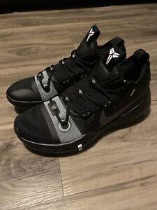 Nike Kobe Bryant AD TB Promo Black Silver AT3874-001 Mens Size 12.5