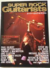 1994 Super Rock Guitarists Japan Music Magazine Randy Rhoads Steve Vai Jeff Beck