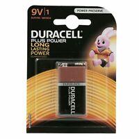 DURACELL Pila Batteria Plus Power Alkaline Alcalina 9V 6LP3146 MN1604 Duralock