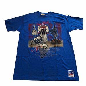 Vintage Deadstock NFL  New York Giants Nutmeg Mills 90s Single Stitch Men's XL
