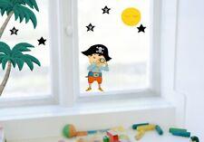 Fenstersticker Pirat Seeräuber Abenteuer Sticker Karibik Aufkleber