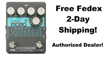 New Electro-Harmonix EHX Bass Mono Synth Synthesizer Guitar Pedal