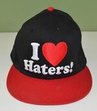 I Heart Haters Hat Cap Snapback