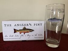 Orvis Angler's Pint Glasses - Rainbow Trout