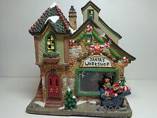 Norman Rockwell Saturday Evening Post Santa at Globe Porcelain House Christmas