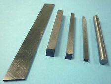 5 Pc HSS Mini Metal Lathe Cutters M2 Steel 1/8 3/16 1/4 Sq 1/4 Rd 1/16 x 1/2 New