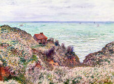 Cabin of the Customs Watch by Claude Monet 60cm x 44.5cm Art Print