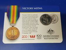 2017 Legends of the Anzac coin - Victory Medal