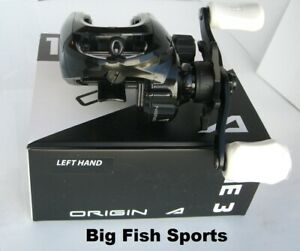 13 FISHING One 3 Origin A Baitcast Reel LEFT HAND Gear Ratio 8.1:1 #OA8.1-LH