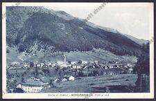 BERGAMO SCHILPARIO 40 VALLE DI SCALVE Cartolina viaggiata 1933