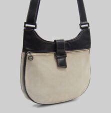 Longchamp Canvas   Leather Unisex Messenger Convertable Crossbody Shoulder  Bag c4e582f6ed05c