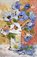 Original Art Oprina-Felicia Dolea - Oil Painting 4x6 in #414