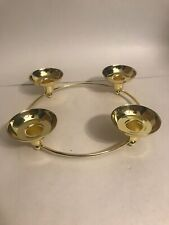 candle holder decorative vintage collectible centerpiece 4 Candles 9� Diameter