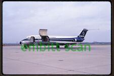 Original Slide, ONA Overseas National Airways Douglas DC-9-33CF (N936F), in 1971