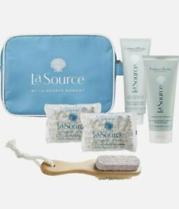 Luxury Brand Crabtree & Evelyn London New La Source 5 Piece Foot Care Gift Set