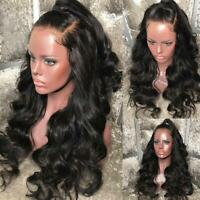 HOT Silk Virgin Malaysian Human Hair Full Lace Wig Pre Plucked with Baby Hair