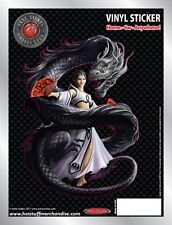 Dragon and Dancer Car Sticker - Auto Decal - Anne Stokes
