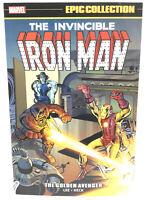 Iron Man Epic Collection Vol 1 Golden Avenger Marvel Comics TPB New Paperback