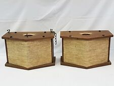 PAIR of VINTAGE 60's BOSE 901 DIRECT REFLECTING SPEAKERS * SOUNDS GREAT