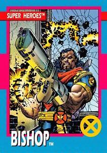 BISHOP / X-Men Series 1 (Impel 1992) BASE Trading Card #38