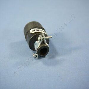 Eagle Black Polarized Straight Blade Connector Plug NEMA 1-15 15A 125V Bulk 178