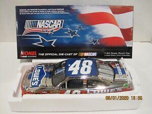 JIMMIE JOHNSON #48 2012 LOWES NASCAR UNITES 1/24