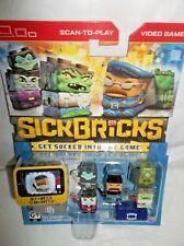 Sick Bricks building blocks Spin Master -5 Figure Pack-City vs Monsters-18 PC'S