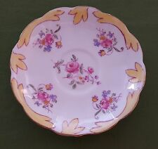 Royal Albert Crown China Tea Saucer England Vintage Floral