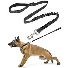 110cm Anti Shock Dog/Puppy Lead Training/Walking Strong Leash Pull/Extend/Absorb