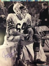Green Bay Packers JERRY KRAMER autograph signed auto Instant Replay 16x20 HOF 18