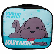 Yuri On Ice Anime Makkachin Poodle Dog Lunch Bag Official Licensed Great Eastern