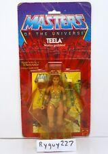 MOTU, Teela, 8-back, Masters of the Universe, MOC, carded, figure, He Man, NIP