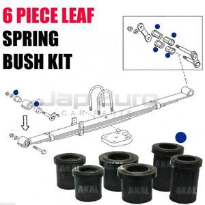 For Toyota Hilux 2.4 D 2.5 D-4D 98-05 Rear Leaf Spring Shackle Rubber Bushes Kit