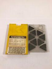 Kennametal Carbide Inserts TPGR220408, TPGF432 KC910 Qty 9