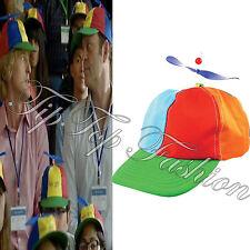 New Propeller Cap Hat Helicopter Rainbow Tweedle Dee Dum Pride Fancy Dress Nerd
