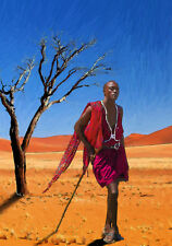 COOL ART - OUT OF AFRICA lll - HAND FINISHED, LIMITED EDITION (25)