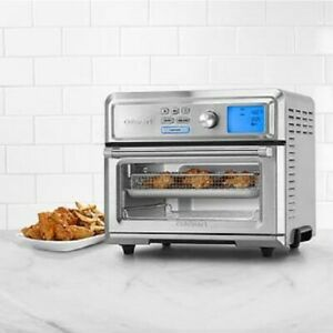 Cuisinart Digital AirFryer Toaster Oven Multi Cooker 1800 Watts 0.6 Cubic Foot