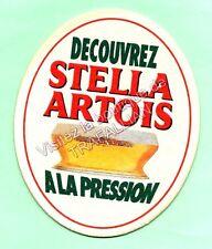sous-bock STELLA ARTOIS bierdeckel coaster Lot 1161