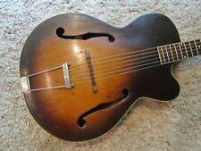 Vintage Kay Harmony Silvertone Acoustic Archtop Guitar