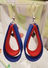 orecchini donna in gomma crepla o eva con turchesite.