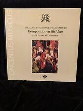 TELEMANN, BACH & BUXTEHUDE - Esswood, countertenor - Harnoncourt - TELEFUNKEN LP