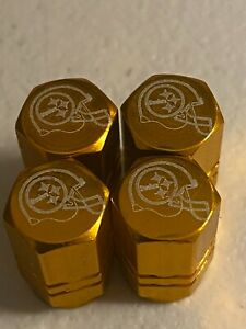 Pittsburgh Steelers Tire Valve Stem cap Covers 4 Pc,  #1