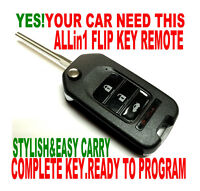 NEW FLIP KEY REMOTE FOR 09-10 TOYOTA GQ4-29T DOT-KEY IGNITION ALARM FOB CLICKER