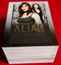 ALIAS (J.J. Abrams) - Season 4 - COMPLETE BASE SET (81 Cards) - Inkworks 2006