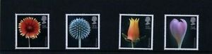 MINT 1987 GB FLOWERS ALFRED LAMMER COMPLETE STAMP SET OF 4 MUH