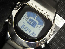 ULTRA RARE CITIZEN KANGOL VINTAGE DIGITAL WATCH D826-L19117 Y NOS CRYSTAL CUT
