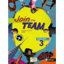 "MP002 NATHAN ""Join the Team"" MANUEL avec CD 3e (Nouveau programmes A2B1)"