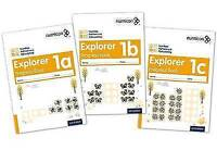 Numicon: Number, Pattern and Calculating 1 Explorer Progress Books ABC (Mixed pa