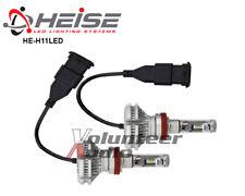 Metra Heise H11 Single Beam LED Headlight Kit Phillips Luxeon LED IP65 Rated