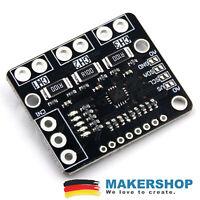 Strom Current Leistungssensor INA3221 3 x INA219 Monitor Spannung Sensor Arduino